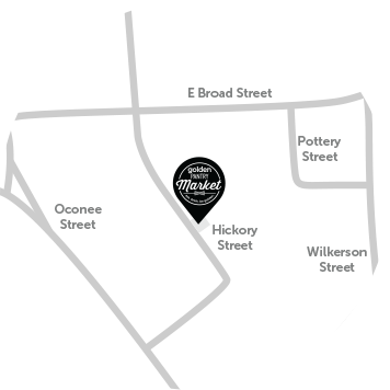 Golden Pantry Market map image